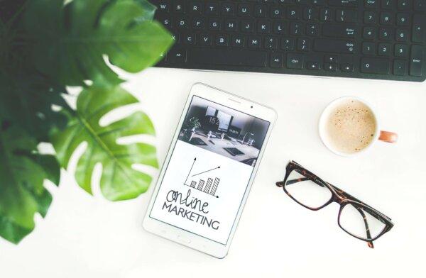 Online Marketing iPad